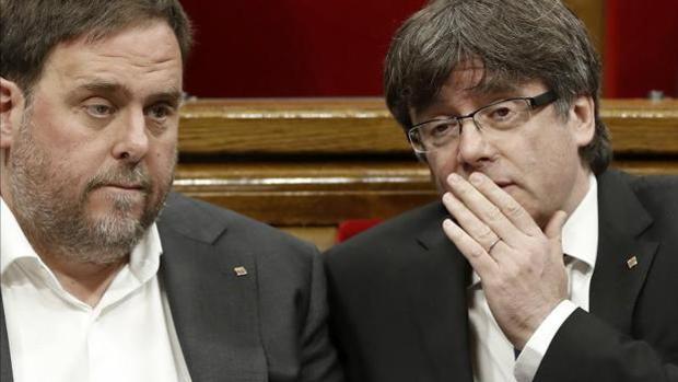 Puigdemont y Junuqeras