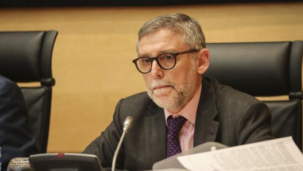 Juan José Pérez Sáez comparece en la comisión de investigación de las cajas en las Cortes
