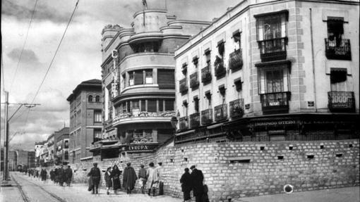 Checa del Cinema Europa, en 1939