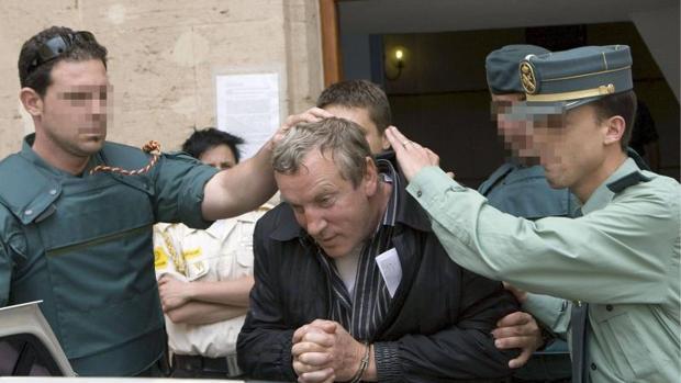 Gennadios Petrov durante su detención en junio de 2008 en Mallorca