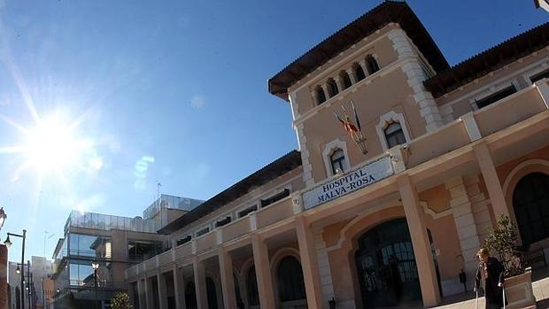 Imagen del hospital de la Malvarrosa, próximo al lugar donde se ha producido el siniestro