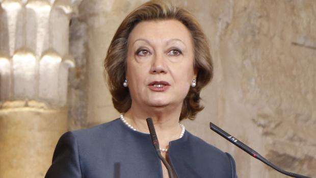 Luisa Fernanda Rudi, expresidenta de Aragón y actual senadora por designación autonómica