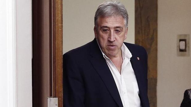 El alcalde de Pamplona, Joseba Asirón