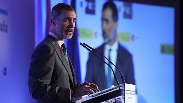 Ceremonia de entrega de los XXXV Premios Internacionales de Periodismo Rey de España
