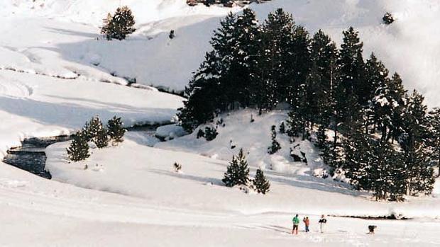 Este año, la nieve sigue abundando en el Pirineo en plena primavera