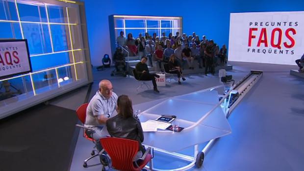 El etarra durante la entrevista con TV3