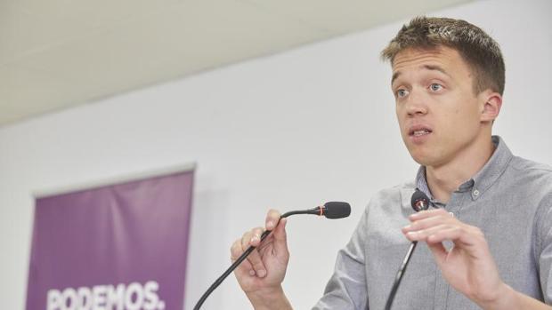 El candidato de Podemos a presidir la Comunidad de Madrid, Íñigo Errejón