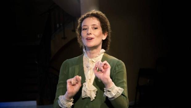 La actriz protagonista de «Una habitación propia», Clara Sanchis que llega este fin de semana a Toledo