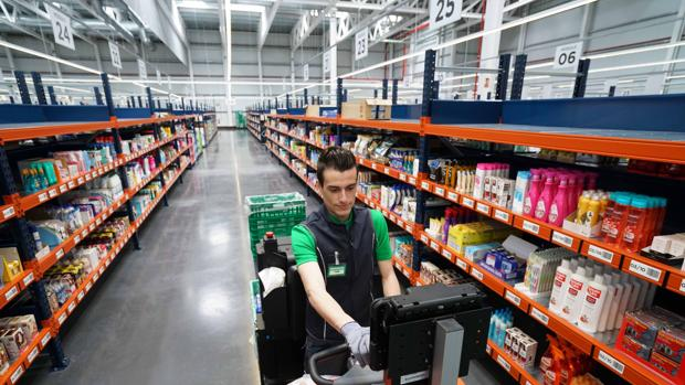 4c4d13a6430 Comunidad Valenciana Imagen del interior de la «Colmena» de Mercadona