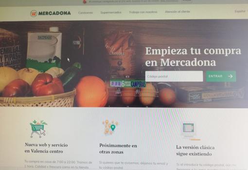 042921c550c Así es y así funciona la nueva web de Mercadona para la compra online