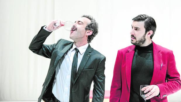 Óscar Intente y Arnau Puig dan vida a Othello y Yago, respectivamente