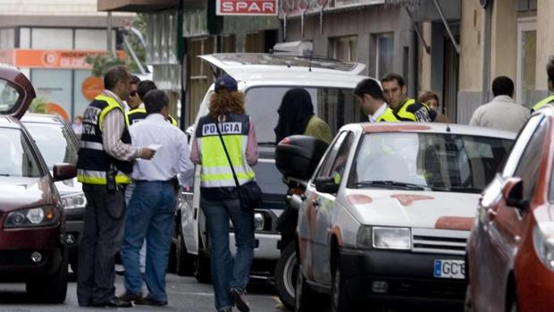Imagen de archivo de una operación policial en Las Palmas