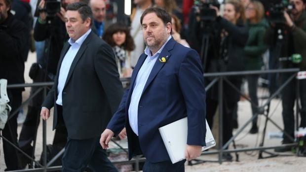 El exvicepresidente Oriol Junqueras, en prisión desde el pasado noviembre