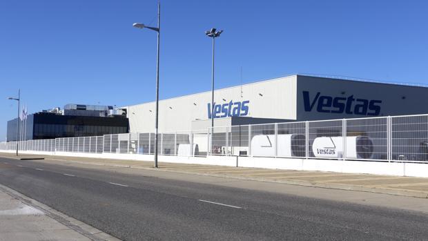 Planta de Vestas ubicada en León