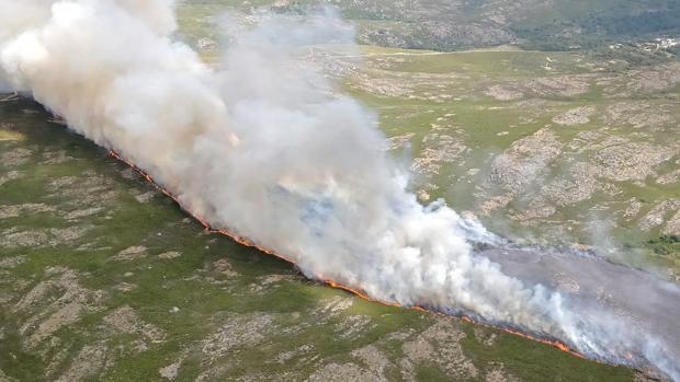 Un incendio en Zamora