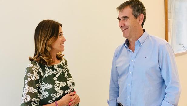 Reunión mantenida este martes entre Rosa Romero y Antonio Román