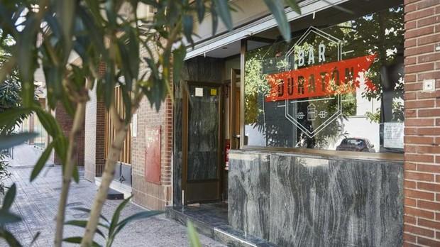 El bar Duratón, frente al estadio Vicente Calderón