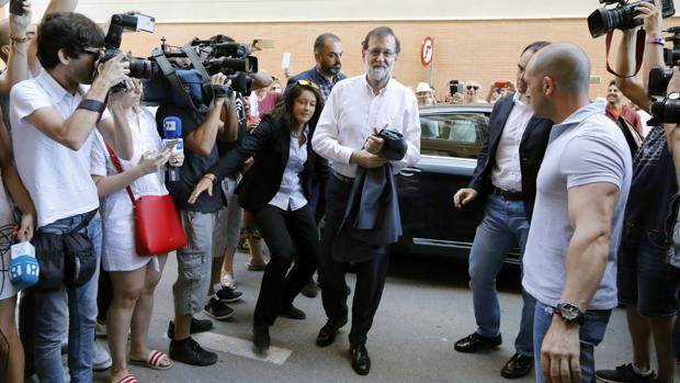 Rajoy se incorporó el pasado 20 de junio al registro de Santa Pola
