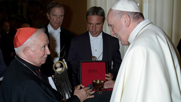 Imagen de la audiencia del Papa Francisco al cardenal Cañizares