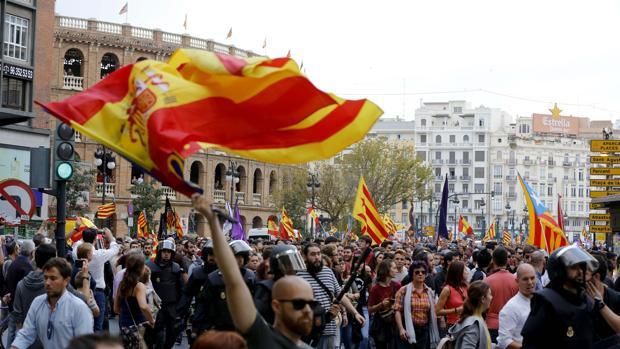 Imagen de la manifestación del pasado año en Valencia