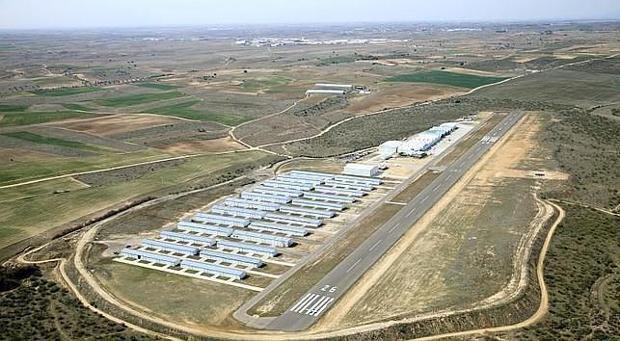 Aeródromo de Casarrubios del Monte donde se proyectará el segundo aeropuerto de Madrid