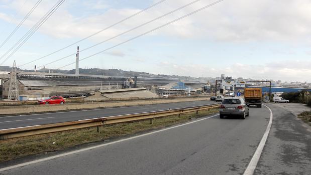 La planta de Alcoa en La Coruña