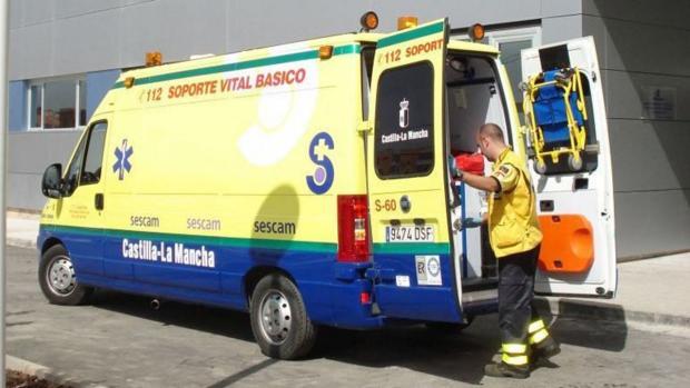 Hasta el lugar de los hechos tuvo que desplazarse una ambulancia de soporte vital y un médico de Urgencias