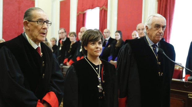 Soraya Sáenz de Santamaría, exvicepresidenta del Gobierno