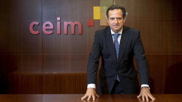 Juan Pablo Lázaro, presidente de CEIM