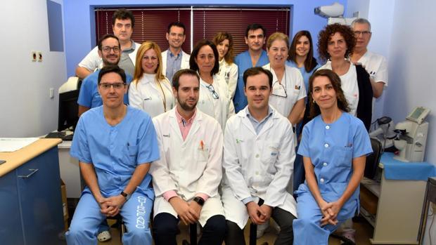 Equipo de Oftalmología del Hospital de Talavera