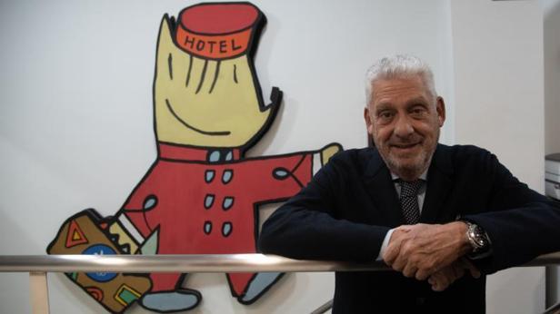 Jordi Clos, posando para ABC