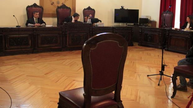 Sala de la Sección Primera donde tendrá lugar el juicio