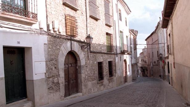 Imagen de archivo cel Casco Histórico de Cuenca