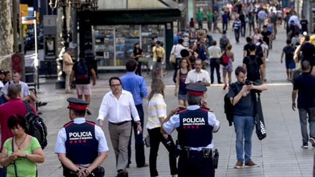 Las Ramblas de Barcelona fueron escenario de un sangriento atentado en 2017