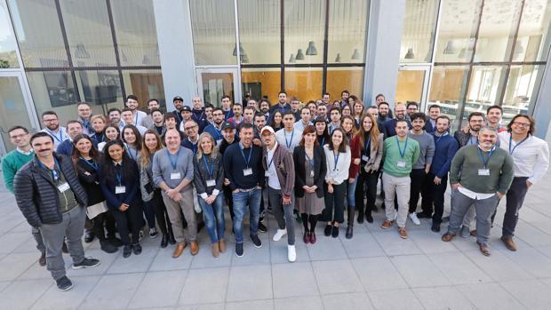 Imagen de los nuevos empresarios que se unen a Lanzadera este 2019