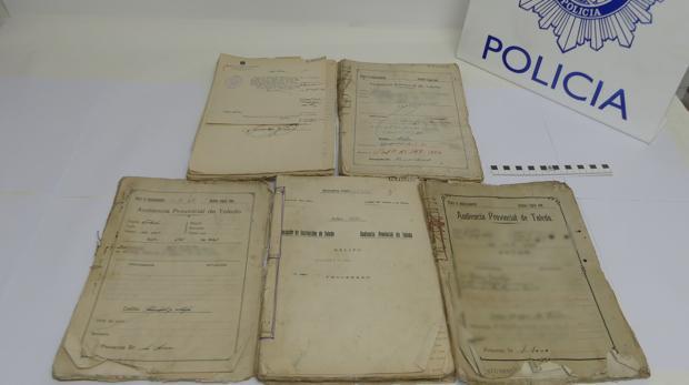 Los documentos recuperados