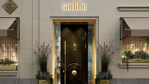 Recreación de la futura fachada de Saddle, en Amador de los Ríos, 6