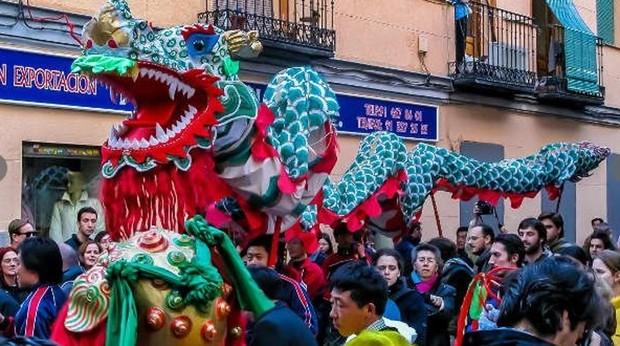 Año Nuevo Chino En Madrid Programación Cultural Pasacalles Y Espectáculo De Luces