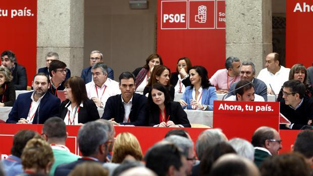 El Comité Federal del PSOE celebrado en noviembre de 2017 en Alcalá de Henares