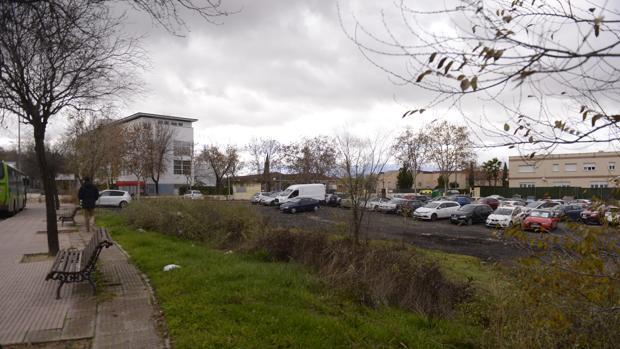 Inmediaciones del lugar donde ocurrió la agresión