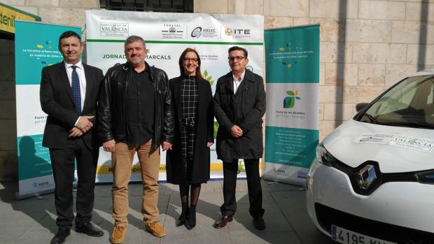 Presentación de las jornadas «Energia i canvi climàtic»