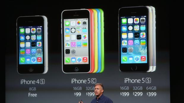 Imagen de la presentación del Iphone 5 allá por septiembre de 2013