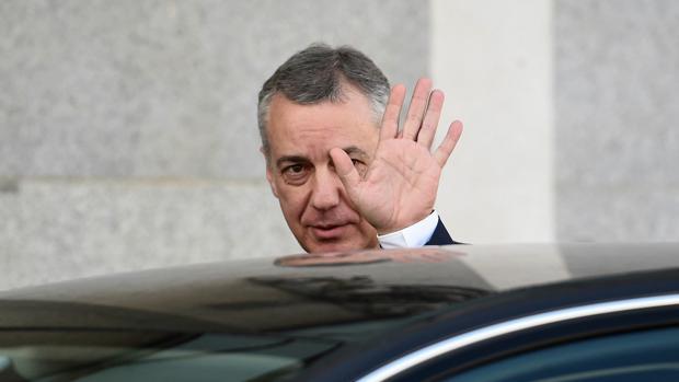 Íñigo Urkullu declaró como testigo en el juicio del «procés»