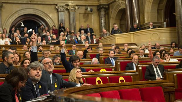 El parlamento de Cataluña en una imagen de archivo