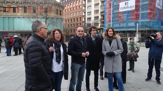 Representantes de UPN, PP y Ciudadanos han coincidido en un homenaje a las víctimas del terrorismo