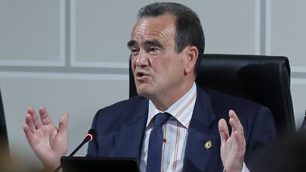 Juan Antonio Sánchez Quero, presidente de la Diputación de Zaragoza y líder provincial del PSOE