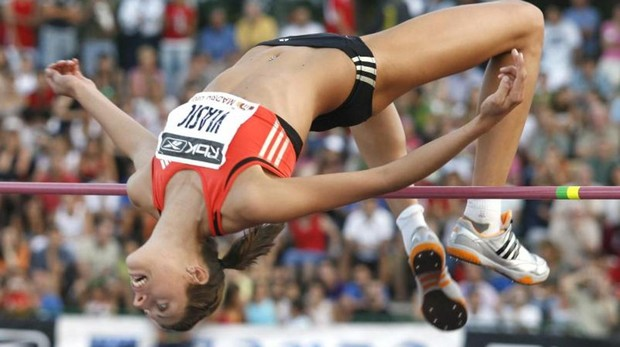 La atleta croata Blanca Vlasic logró el mejor salto en el estadio de Vallehermoso en 2007