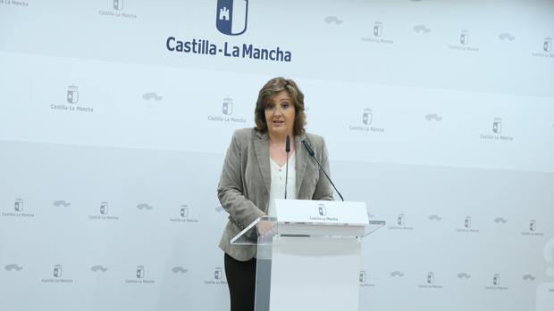 La consejera de Economía, Empleo y Empresas, Patricia Franco