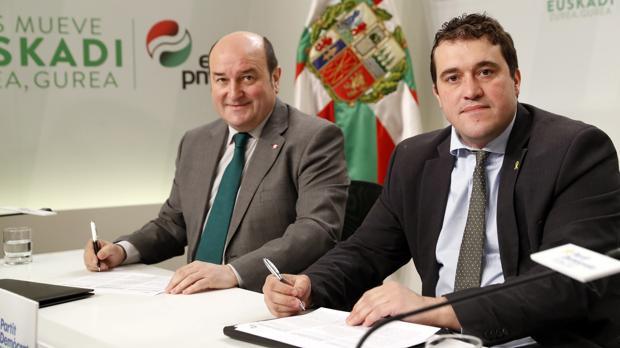 Andoni Ortuzar y David Bonvehí