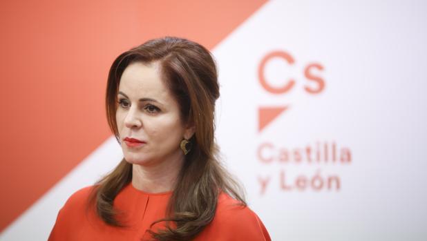 Silvia Clemente en su presentación como candidata a las primarias de Cs en Castilla y León